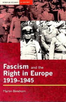 Fascism and the Right in Europe 1919-1945: 1st Edition (Paperback) book cover