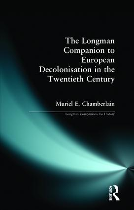 Longman Companion to European Decolonisation in the Twentieth Century book cover