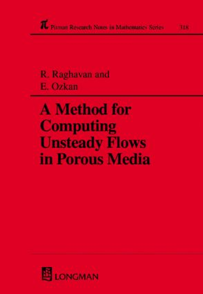 A Method for Computing Unsteady Flows in Porous Media: 1st Edition (Paperback) book cover