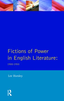Fictions of Power in English Literature