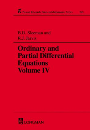 Ordinary and Partial Differential Equations: 1st Edition (Hardback) book cover