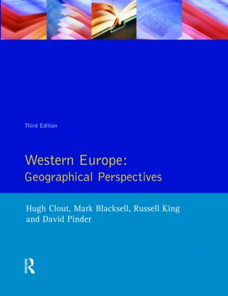 Western Europe: Geographical Perspectives, 3rd Edition (Paperback) book cover