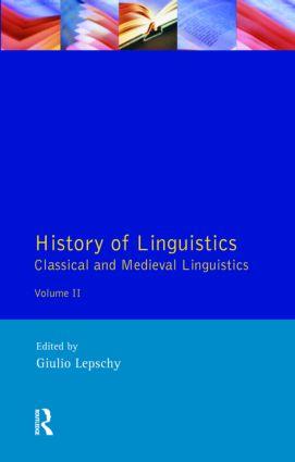 Greek and Latin Linguistics
