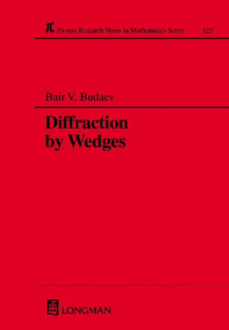 Diffraction by Wedges: 1st Edition (Hardback) book cover