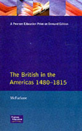British in the Americas 1480-1815, The book cover