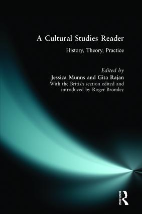 A Cultural Studies Reader: History, Theory, Practice, 1st Edition (Paperback) book cover