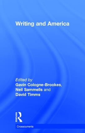 Writing and America: 1st Edition (Paperback) book cover
