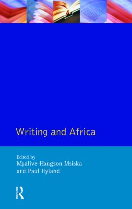 Writing and Africa: 1st Edition (Paperback) book cover