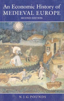 An Economic History of Medieval Europe: 2nd Edition (Paperback) book cover