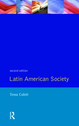 Latin American Society: 2nd Edition (Paperback) book cover