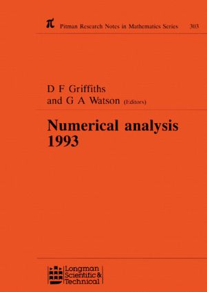 Numerical Analysis 1993: 1st Edition (Hardback) book cover