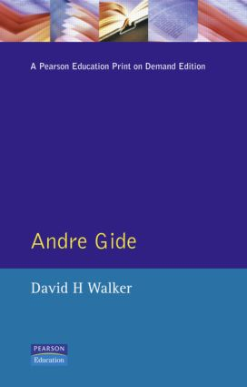 Andre Gide: 1st Edition (Paperback) book cover