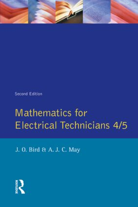 Mathematics for Electrical Technicians: Level 4-5, 2nd Edition (Paperback) book cover