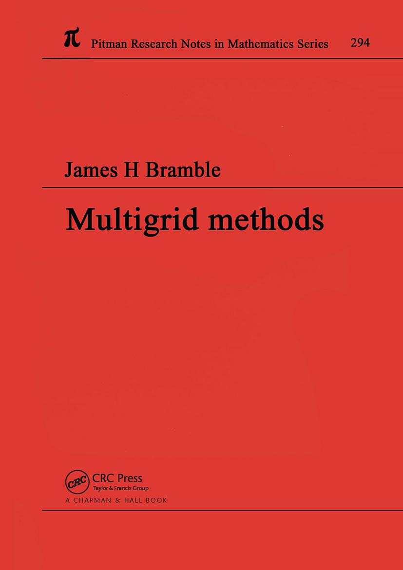 Multigrid Methods: 1st Edition (Hardback) book cover