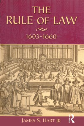 The Rule of Law, 1603-1660: Crowns, Courts and Judges book cover