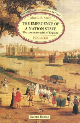 The Emergence of a Nation State: The Commonwealth of England 1529-1660 book cover