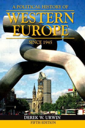 A Political History of Western Europe Since 1945: 5th Edition (Paperback) book cover
