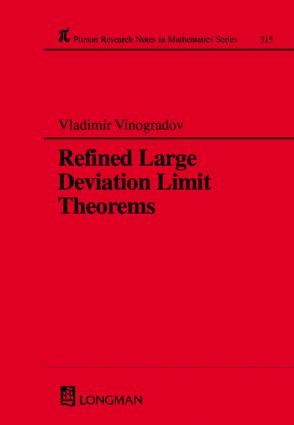 Refined Large Deviation Limit Theorems: 1st Edition (Hardback) book cover