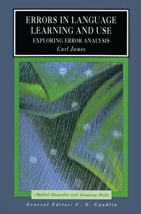 Errors in Language Learning and Use: Exploring Error Analysis book cover