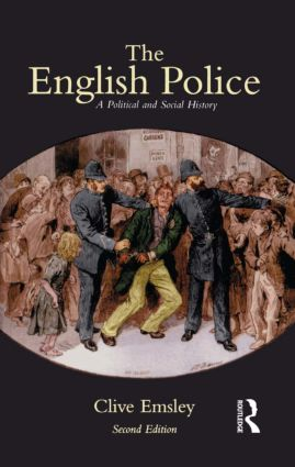 The English Police: A Political and Social History, 2nd Edition (Paperback) book cover