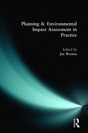 Planning and Environmental Impact Assessment in Practice: 1st Edition (Paperback) book cover