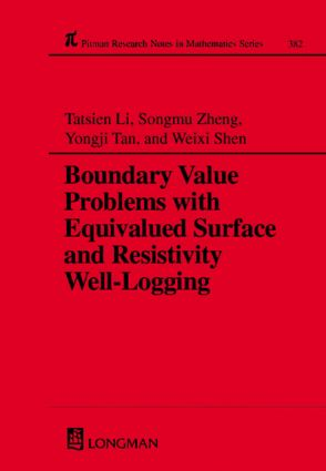 Boundary Value Problems with Equivalued Surface and Resistivity Well-Logging: 1st Edition (Hardback) book cover