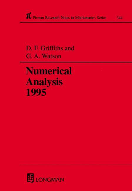 Numerical Analysis 1995: 1st Edition (Hardback) book cover