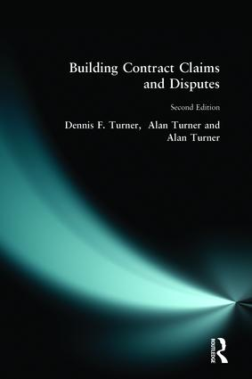 Building Contract Claims and Disputes book cover