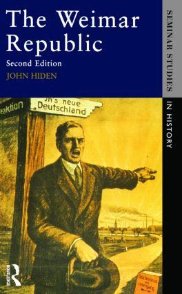 The Weimar Republic: 2nd Edition (Paperback) book cover