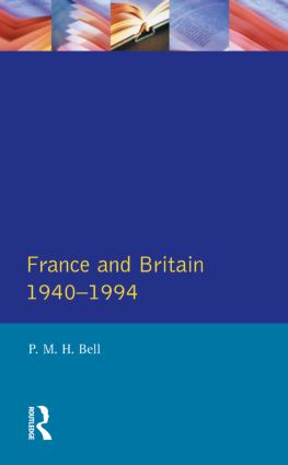 France and Britain, 1940-1994: The Long Separation, 1st Edition (Paperback) book cover