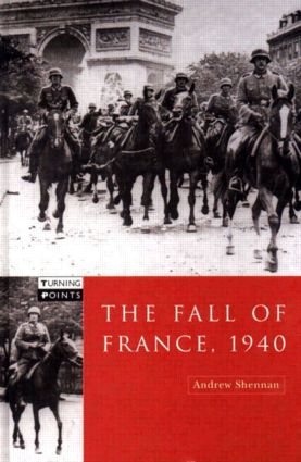 The Fall of France 1940 book cover