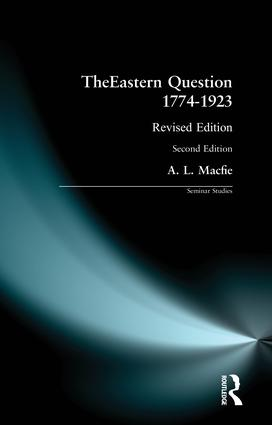 The Eastern Question, 1878–1914