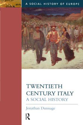 Twentieth Century Italy: A Social History book cover