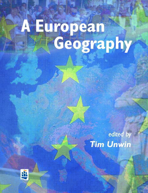 A European Geography: 1st Edition (Paperback) book cover