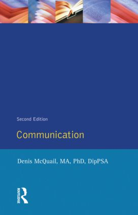 Communications book cover