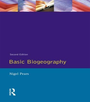 Basic Biogeography: 2nd Edition (Paperback) book cover