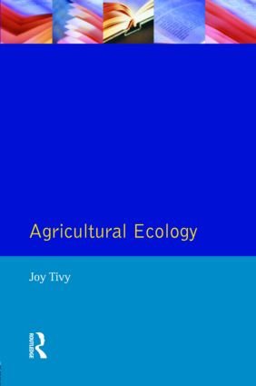 Agricultural Ecology: 1st Edition (Paperback) book cover