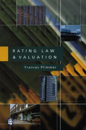 Rating Law and Valuation: 1st Edition (Paperback) book cover