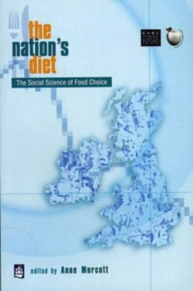 The Nation's Diet: The Social Science of Food Choice, 1st Edition (Paperback) book cover