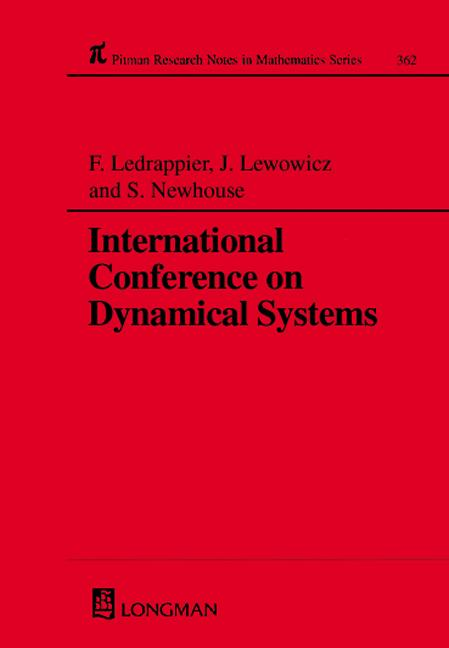 International Conference On Dynamical Systems: 1st Edition (Hardback) book cover
