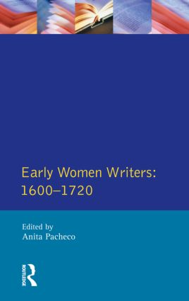 Early Women Writers: 1600 - 1720 book cover