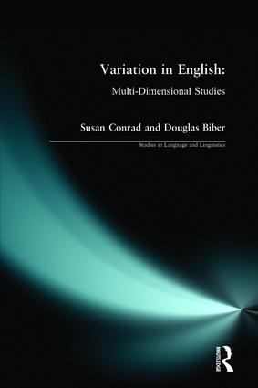 Variation in English: Multi-Dimensional Studies, 1st Edition (Paperback) book cover