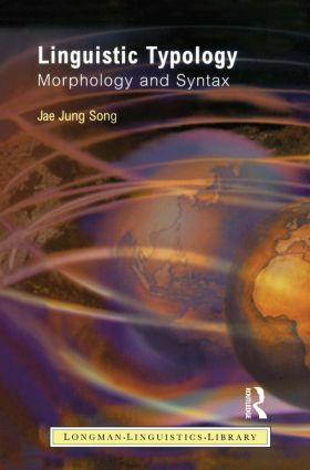 Linguistic Typology: Morphology and Syntax, 1st Edition (Paperback) book cover