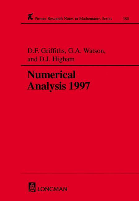 Numerical Analysis 1997: 1st Edition (Hardback) book cover