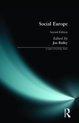 Social Europe: 2nd Edition (Paperback) book cover