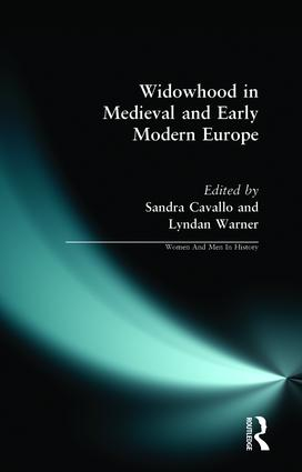 Widowhood in Medieval and Early Modern Europe book cover