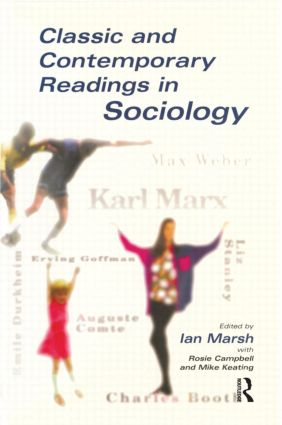 Classic and Contemporary Readings in Sociology: 1st Edition (Paperback) book cover