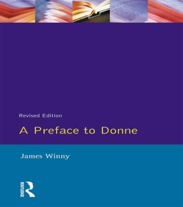 A Preface to Donne book cover