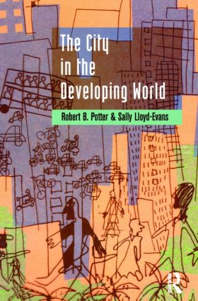 The City in the Developing World: 1st Edition (Paperback) book cover