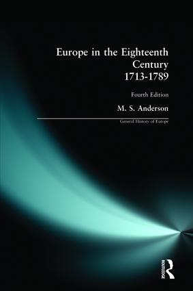 Europe in the Eighteenth Century 1713-1789